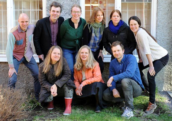 9 av 11 medlemmar i fantastiska Bagarmossen Resilience Center.