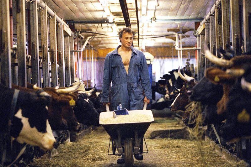 Michael Nyqvist i filmen Grabben i graven bredvid, 2002.